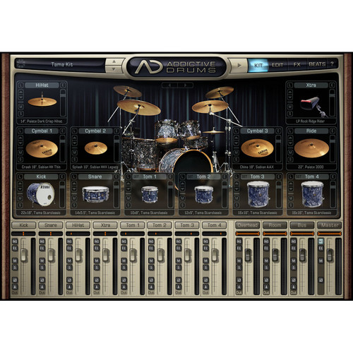 XLN Audio Addictive Drums - Complete Drum Production Studio
