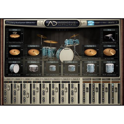 XLN Audio Retro ADpak - Expansion Pack for Addictive Drums