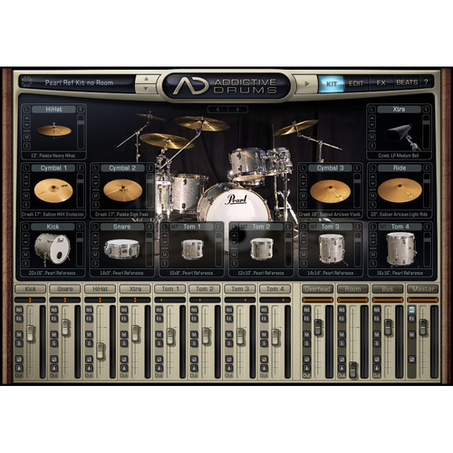 XLN Audio Funk ADpak - Expansion Pack for Addictive Drums