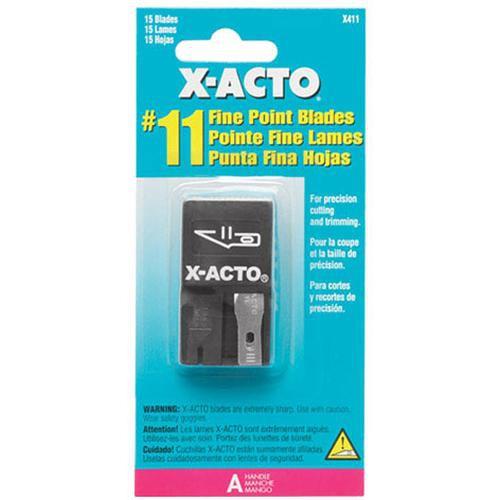 X-Acto X411 Single Edge Razor Blade (15 Pack)