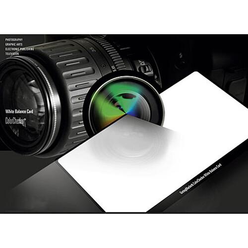 X-Rite ColorChecker Custom White Balance Card