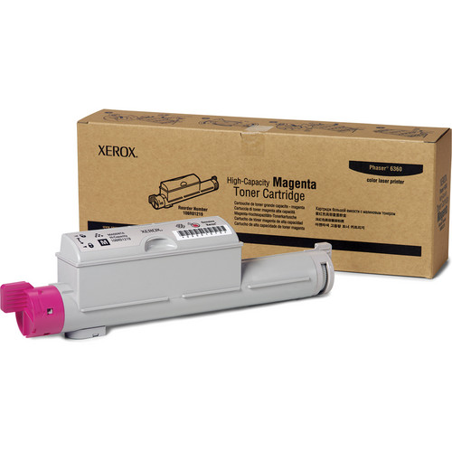 Xerox High Yield Magenta Toner For Phaser 6360 Color Printer