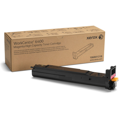 Xerox Magenta High Capacity Toner Cartridge For WorkCentre 6400