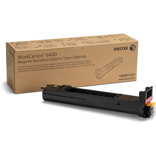 Xerox Magenta Standard Capacity Toner Cartridge For WorkCentre 6400