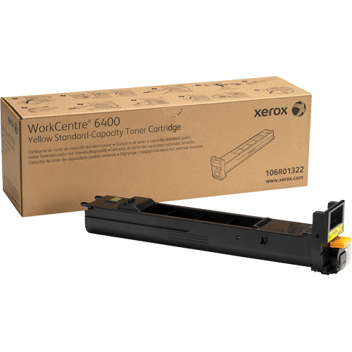 Xerox Yellow Standard Capacity Toner Cartridge For WorkCentre 6400