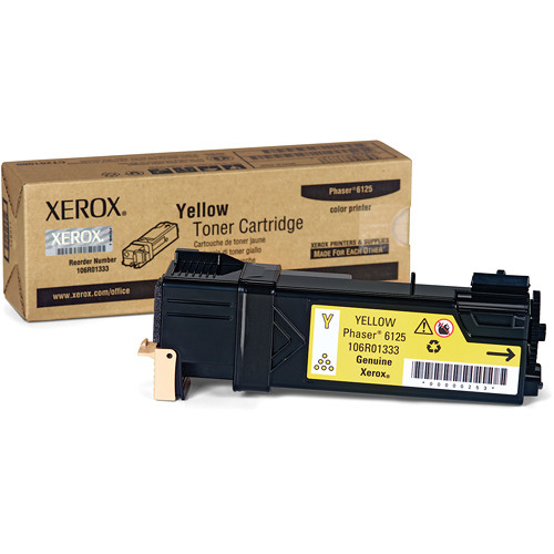 Xerox Yellow  Toner Cartridge For Phaser 6125