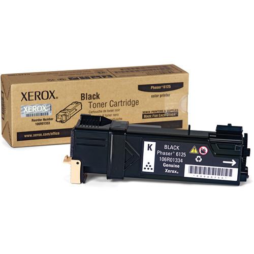 Xerox Black  Toner Cartridge For Phaser 6125