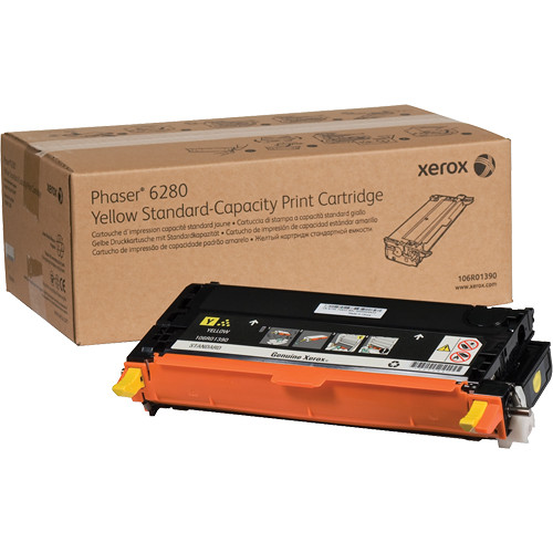 Xerox Yellow Standard Capacity Print Cartridge For Phaser 6280