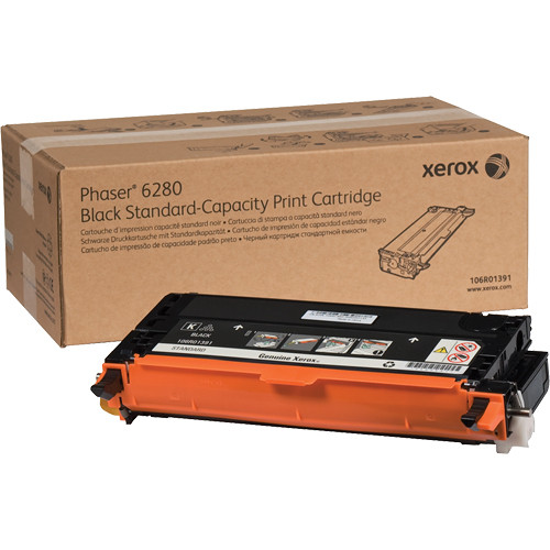 Xerox Black Standard Capacity Print Cartridge For Phaser 6280