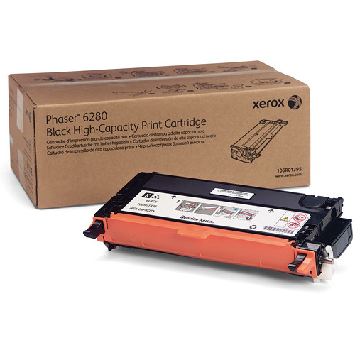 Xerox Black High Yield Print Cartridge For Phaser 6280