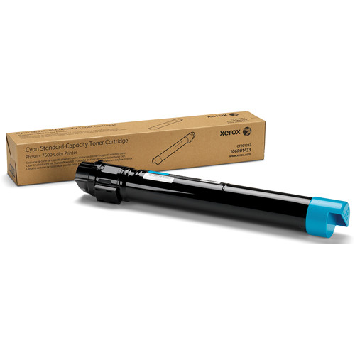Xerox Cyan Standard Toner Cartridge For Phaser 7500 Printer