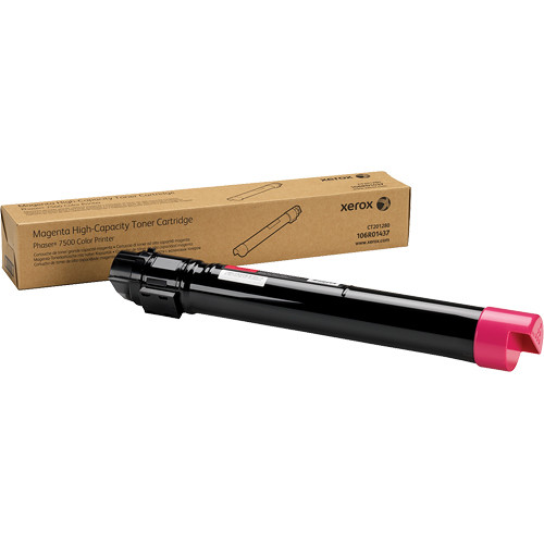 Xerox Magenta High Toner Cartridge For Phaser 7500 Printer