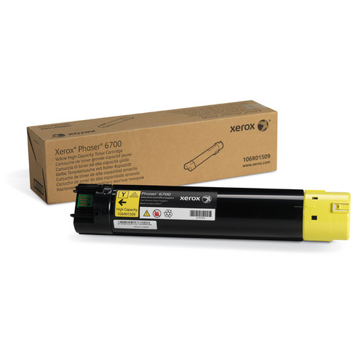 Xerox High Capacity Yellow Toner For Phaser 6700 Series