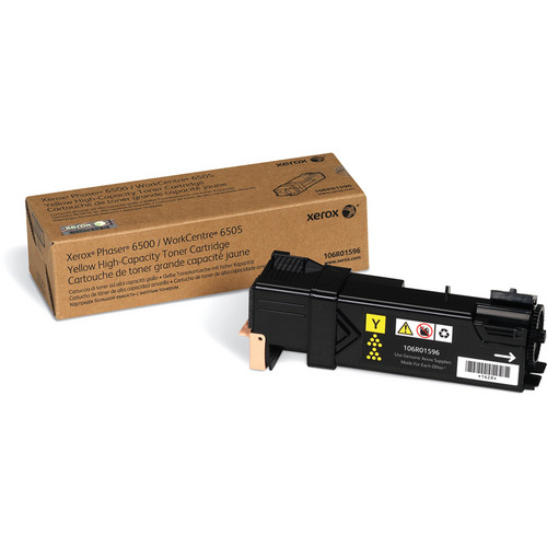 Xerox High-Yield Yellow Toner For Phaser 6500 & WorkCentre 6505