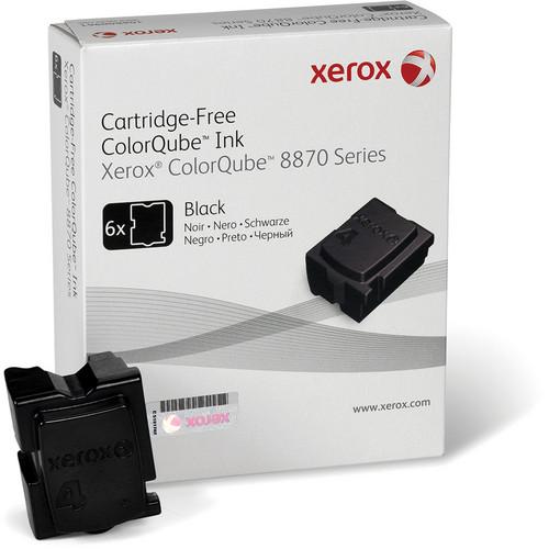 Xerox 108R00953 Colorqube Ink Black Cartridges (6 Sticks)