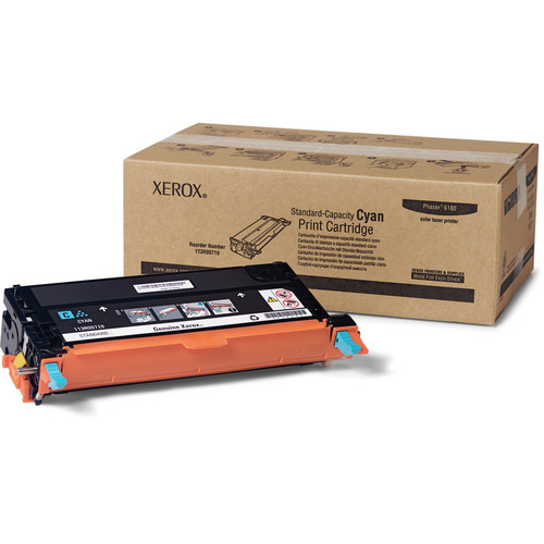 Xerox Cyan Toner Cartridge For Phaser 6180