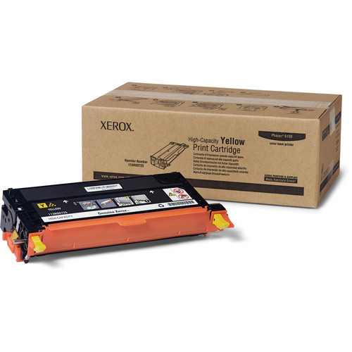 Xerox Yellow Toner Cartridge For Phaser 6180