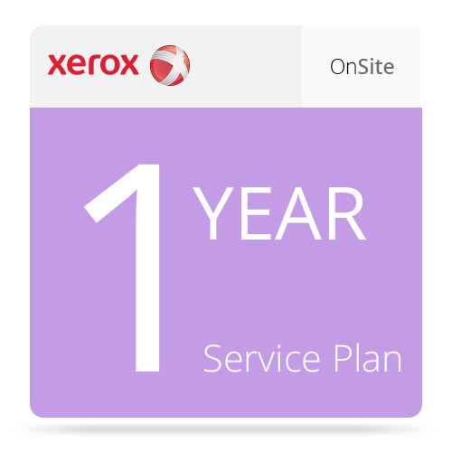 Xerox One-Year Annual On-Site Service Plan for Phaser 4600/4620