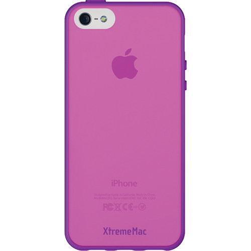 XtremeMac Microshield Accent Case for iPhone 5/5s (Grape/Pink)