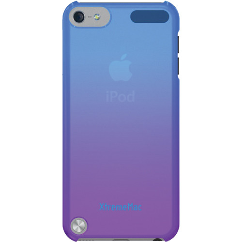 XtremeMac Microshield Fade Case for iPod touch 5th Generation (Blue/Purple)