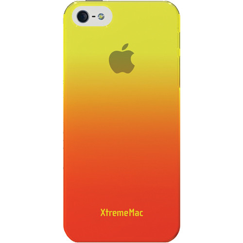 XtremeMac Microshield Fade Case for iPhone 5 (Yellow/Tangerine)