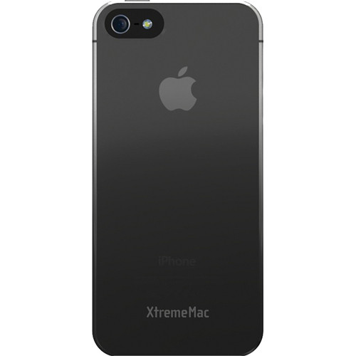 XtremeMac Microshield Fade Case for iPhone 5 (Black/Gray)