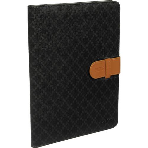 Xuma Designer Folio Case for iPad 2nd, 3rd, 4th Gen (Black)