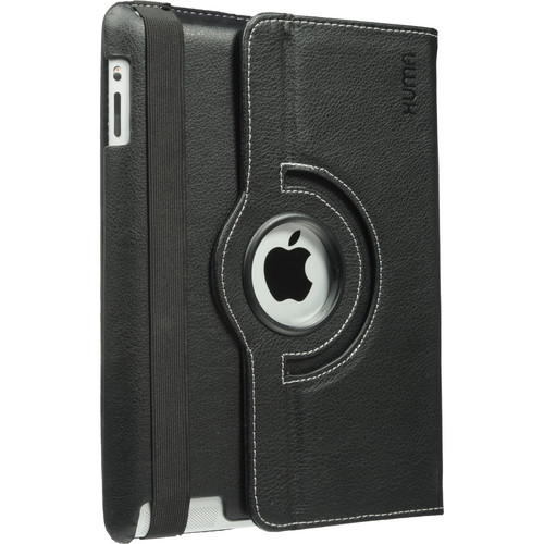 Xuma Rotatable Folio Case for iPad 2nd, 3rd, 4th Gen (Black)