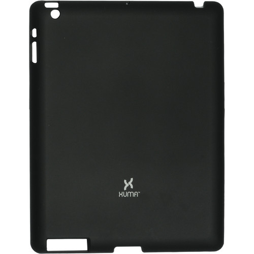 Xuma Snap-On Case for iPad 2nd, 3rd, 4th Gen (Black)