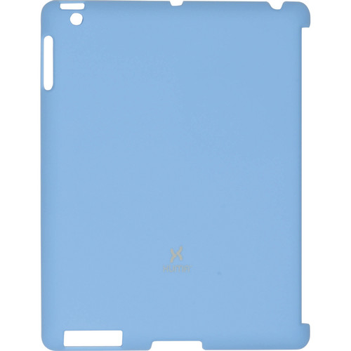 Xuma Smart Cover Compatible Snap-On Case for iPad 2nd, 3rd, 4th Gen (Blue)