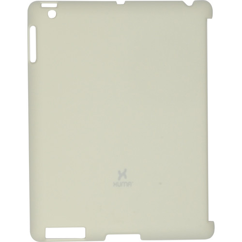 Xuma Smart Cover Compatible Snap-On Case for iPad 2nd, 3rd, 4th Gen (Cream)