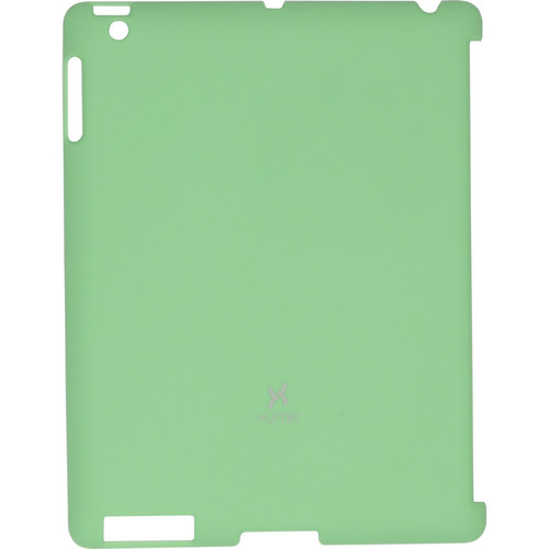 Xuma Smart Cover Compatible Snap-On Case for iPad 2nd, 3rd, 4th Gen (Green)