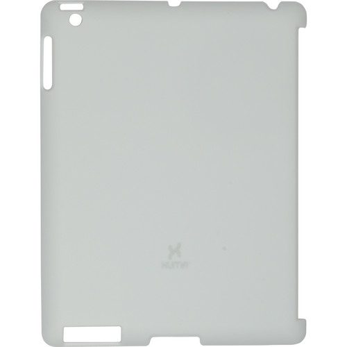 Xuma Smart Cover Compatible Snap-On Case for iPad 2nd, 3rd, 4th Gen (Light Gray)