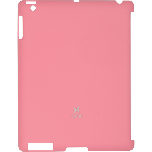 Xuma Smart Cover Compatible Snap-On Case for iPad 2nd, 3rd, 4th Gen (Pink)