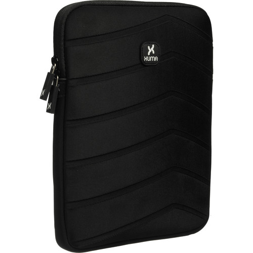 Xuma Textured Neoprene Sleeve for All iPads (Black)
