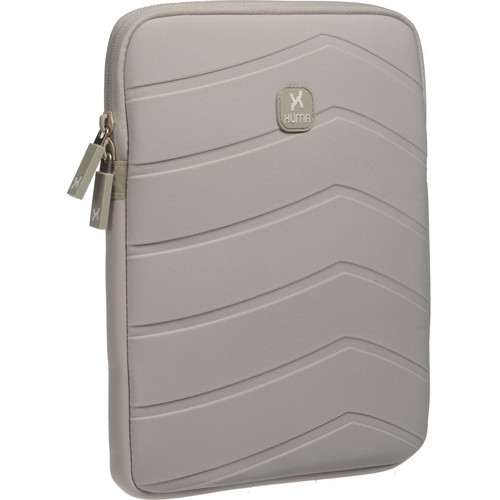 Xuma Textured Neoprene Sleeve for All iPads (Gray)