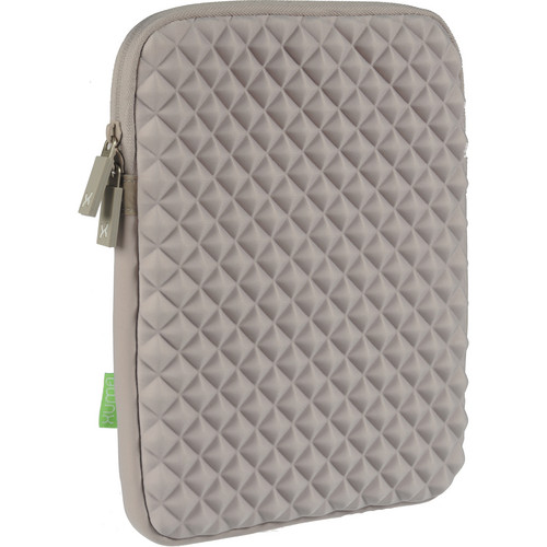 Xuma Cushioned Neoprene Sleeve for All iPads (Gray)