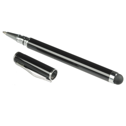 Xuma 2-in-1 Stylus Pen for Tablets and Smartphones (Black)