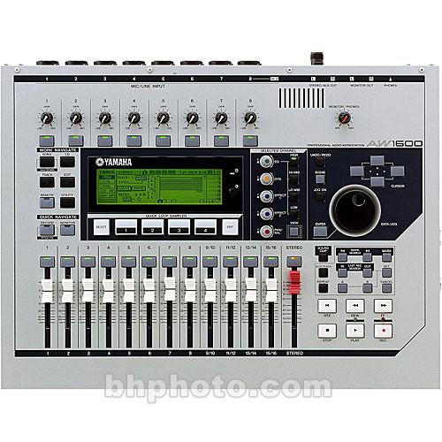 Yamaha AW1600 - 16-Track Hard Disk Desktop Workstation