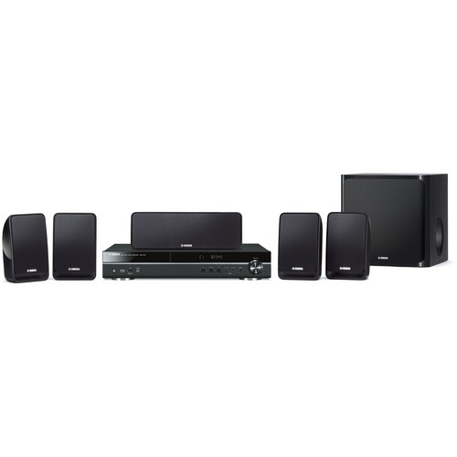 Yamaha BDX-610BL 5.1-Channel Blu-ray Home Theater System