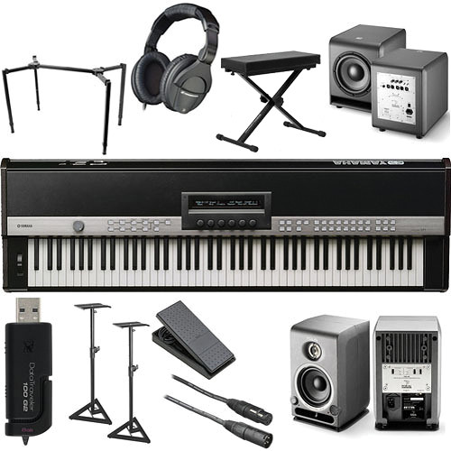 Yamaha CP1 88-Key Stage Piano Complete Bundle Kit