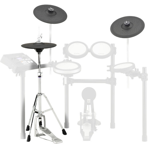 Yamaha DTP700C Electronic Cymbal Pad Set