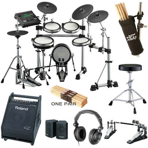 Yamaha DTX900K Value Bundle - Electronic Drums Package
