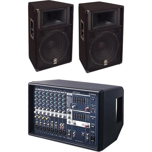 Yamaha Mixing Console and Pro Audio Bundle