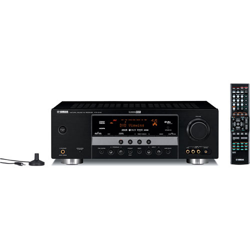 Yamaha HTR-6140BL 5.1-Channel Digital Home Theater Receiver (Black)