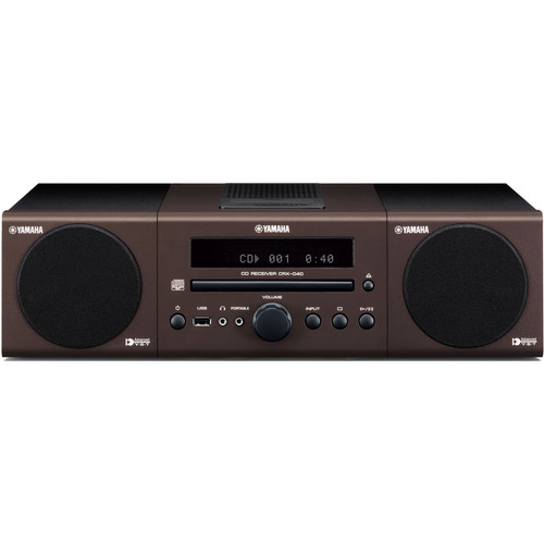 Yamaha MCR-040BR Micro Component System (Brown)