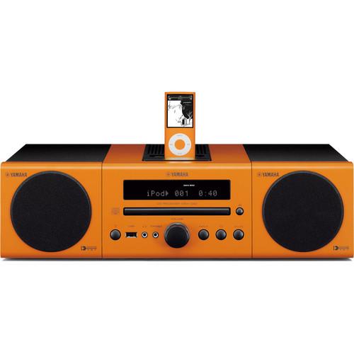 Yamaha MCR-040OR Micro Component System (Orange)