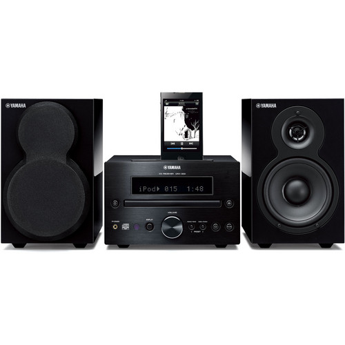 Yamaha MCR-332 Mini-System (Black)