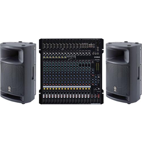 Yamaha Mixing Console & Pro Audio Bundle