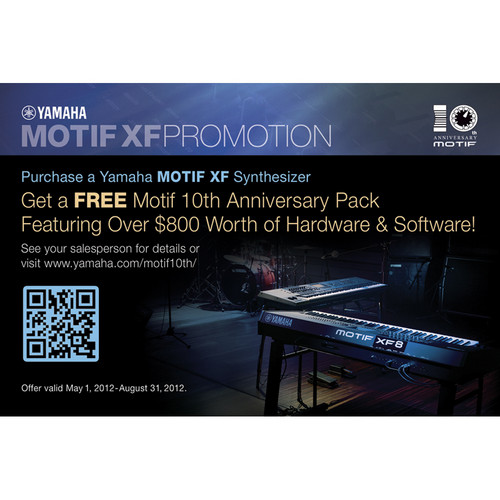 Yamaha Motif 10th Anniversary Pack